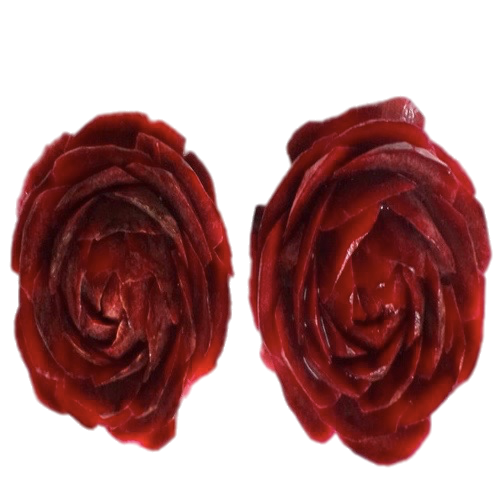 Beetroot_Carved_Flower